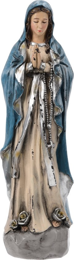 Maria beeld biddend 25 cm