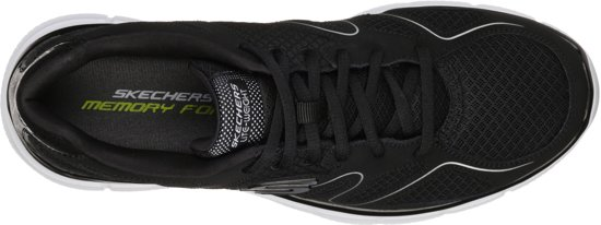 Heren Mannen Sneakers 43 Sneaker Verse Zwart Maat Point wit Flash Skechers BqI1wfx