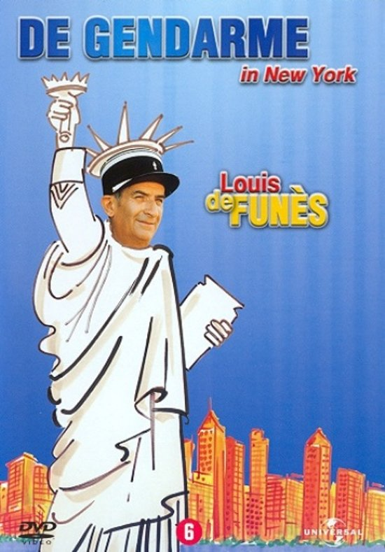 Cover van de film 'De Gendarme In New York'