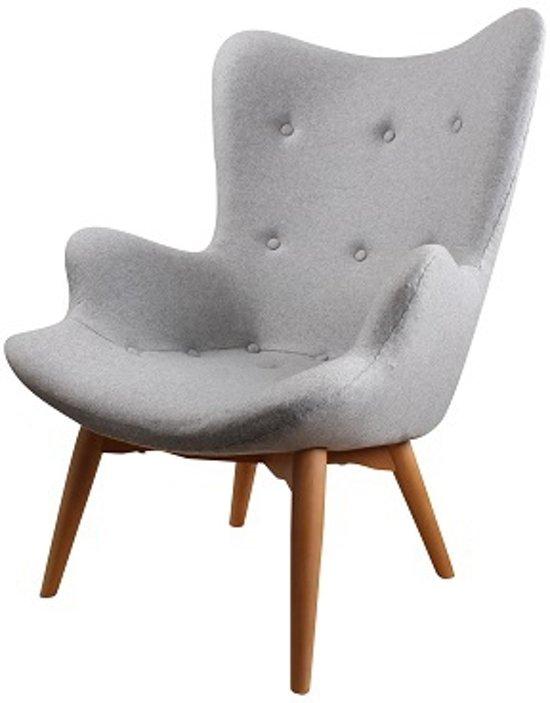 DS4U Zenie - fauteuil - vilt - grijs