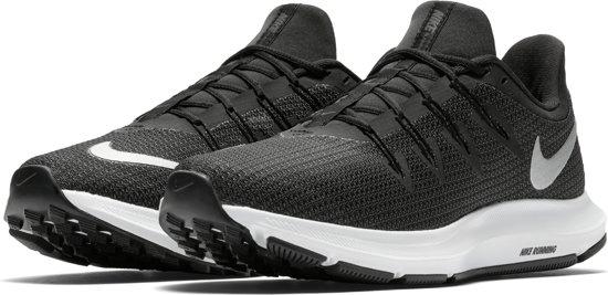 Nike Quest Sportschoenen Dames - Black/Mtlc Silver-Dk Grey-Anthracite-White