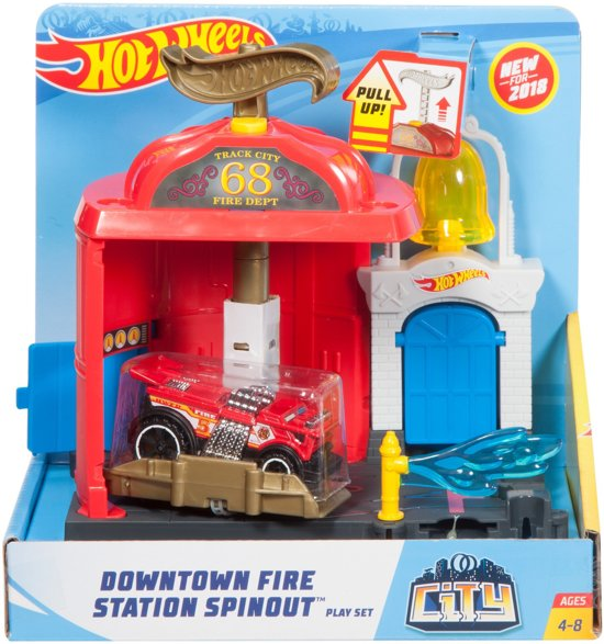 Hot Wheels City Brandweerkazerne