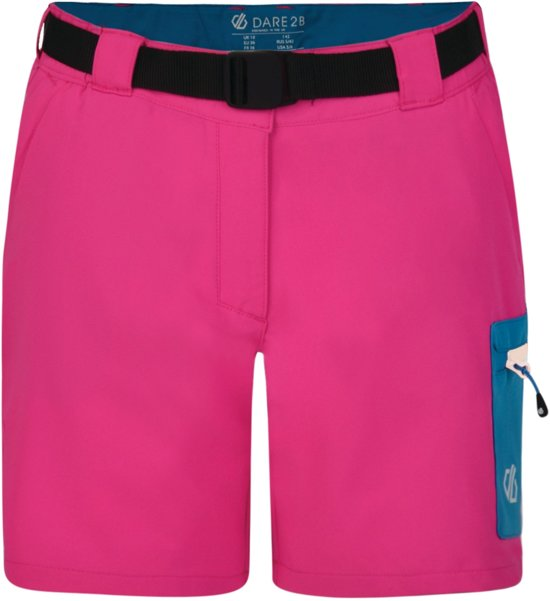 Dare 2b-Revify Short-Outdoorbroek-Vrouwen-MAAT L-Roze