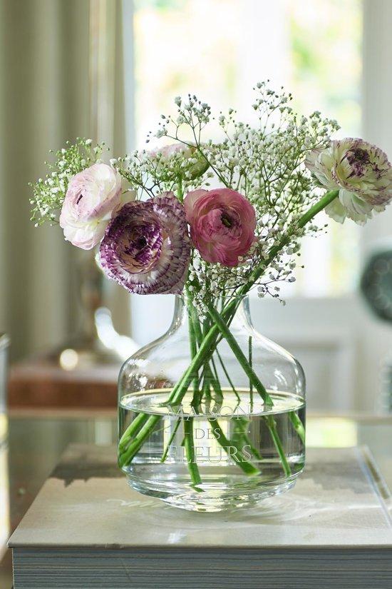 Riviera Maison Maison Des Fleurs Vase - Vaas - Glas