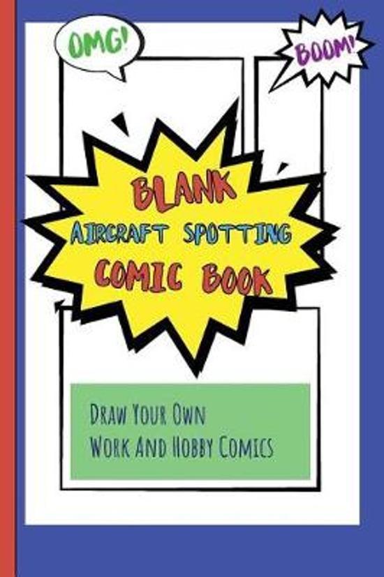 Blank Aircraft Spotting Comic Book