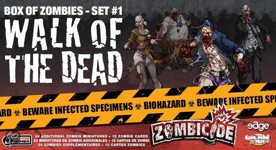 Zombicide Set 1 Walk of the Dead - Bordspel