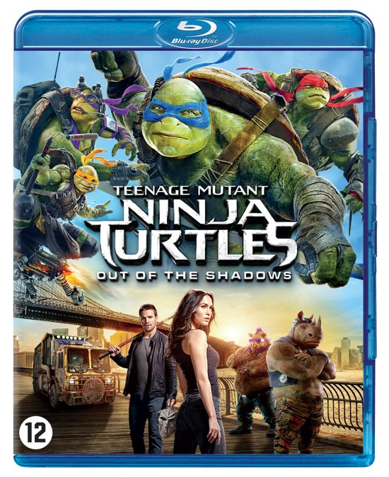 Teenage Mutant Ninja Turtles 2 - Out Of The Shadows (Blu-ray)