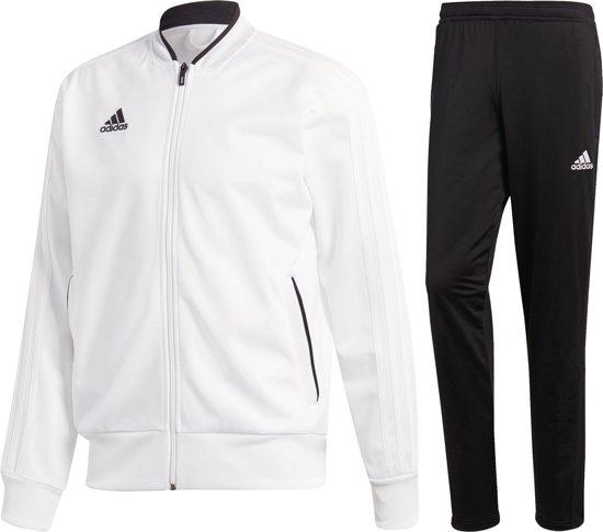 adidas Condivo Trainingspak Heren Trainingspak - Maat L - Mannen - wit/zwart