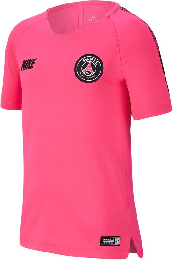 3d6e721d3d7 Nike Paris Saint-German Breathe Squad Top Sportshirt - Maat L - Unisex -  roze