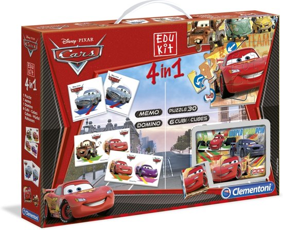 Clementoni Disney Cars 4-in-1 Spel