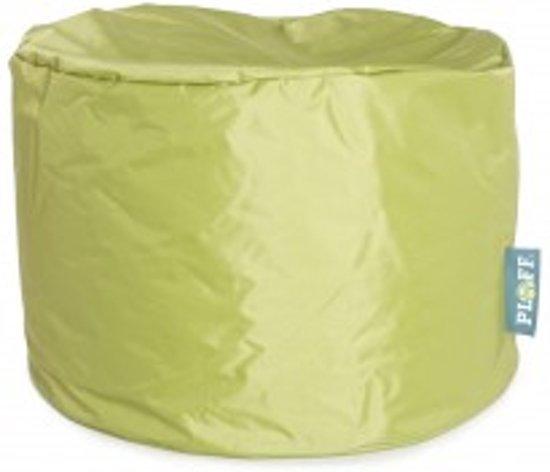 Ronde Leren Zitzak.Tip Ploff Turtle 105 Liter Zitzak Spring Green