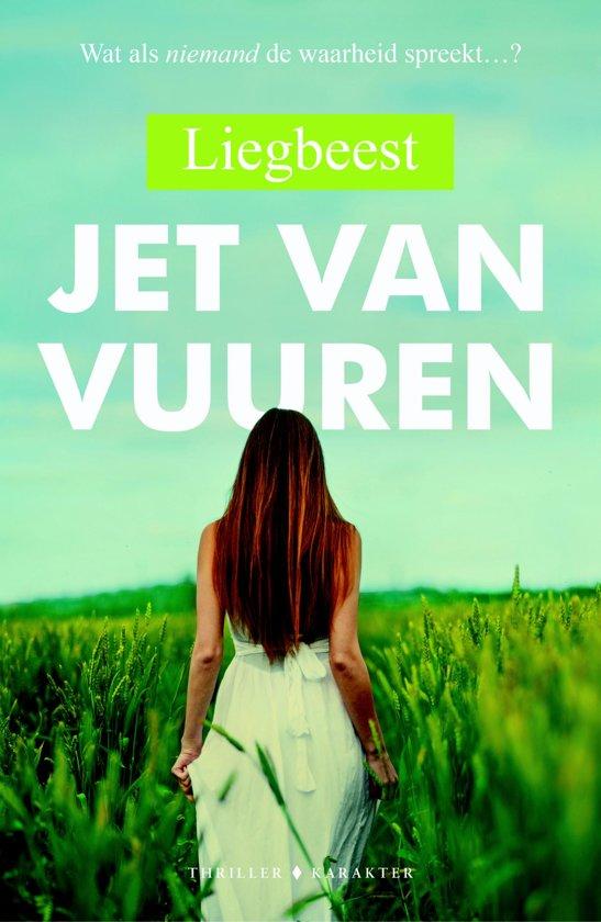Boek cover Liegbeest van Jet van Vuuren (Onbekend)