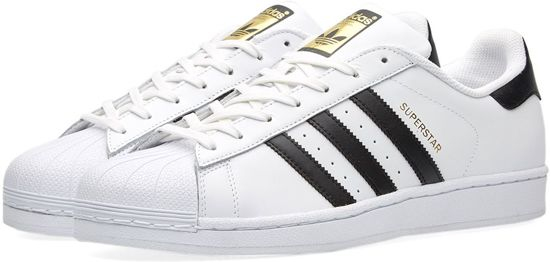 Adidas Superstar Wit Zwart Goud