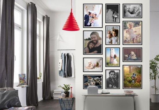 set fotolijsten collage zwart 12 delig set 15. Black Bedroom Furniture Sets. Home Design Ideas