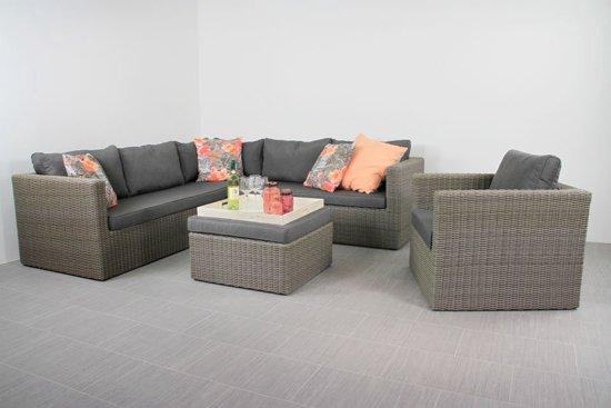 Landelijke Lounge Stoel.Bol Com Nevada Loungeset Inclusief Loungestoel En Hocker