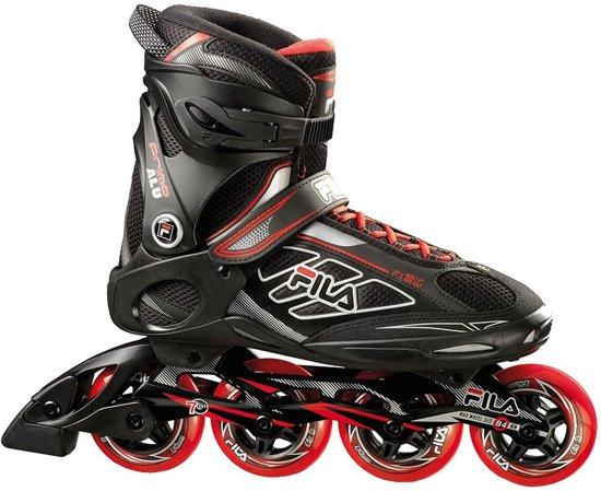 8c6d65f7f9e Fila Inline Skates Primo 84 Heren Zwart/rood Maat 43,5 - bol.com