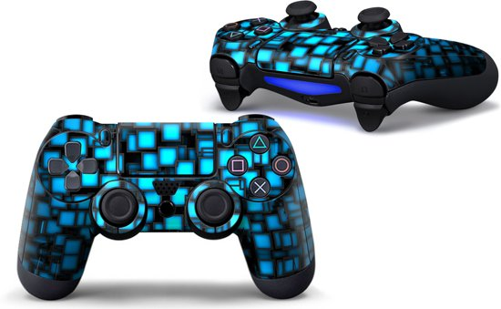 Blue Boxes - PS4 Controller Skins PlayStation Stickers