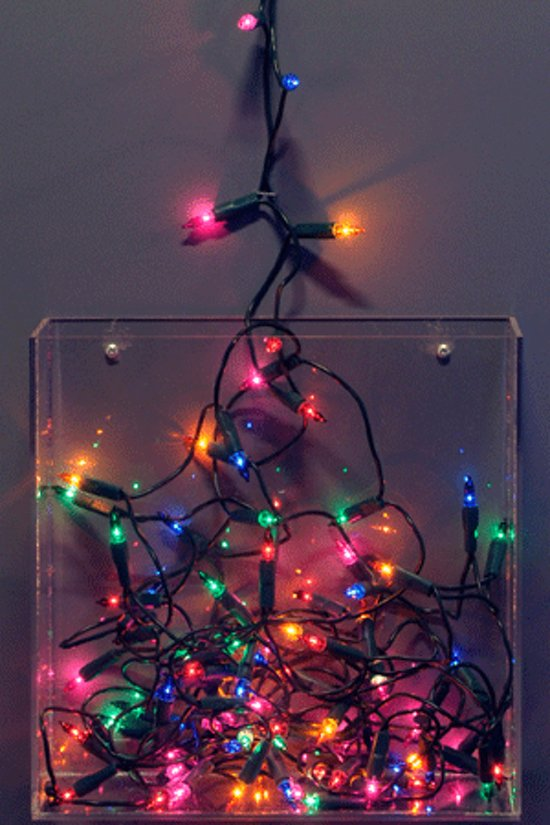Bol Com Kerstverlichting Mini Gekleurd Binnen 10 Lampjes