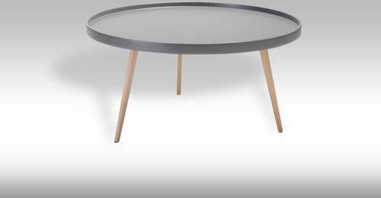 Bol solliden osaka salontafel rond cm grijs