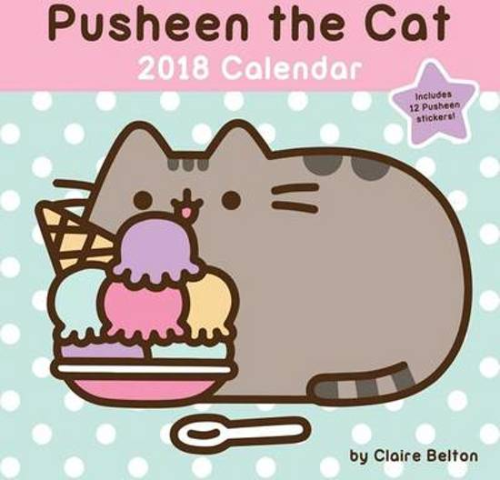 Pusheen the Cat 2018 Wall Calendar
