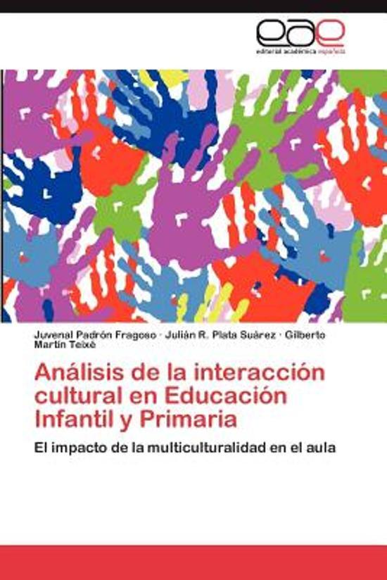 Analisis de la Interaccion Cultural En Educacion Infantil y Primaria