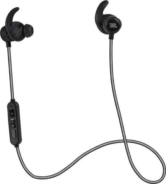 JBL Reflect Mini Bluetooth - Draadloze sport oordopjes met Mic - Zwart