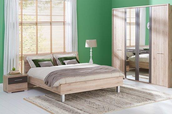 Compleet Bed Met Matras 160x200.Bol Com Beddenreus Portland Compleet Bed Met Matras En