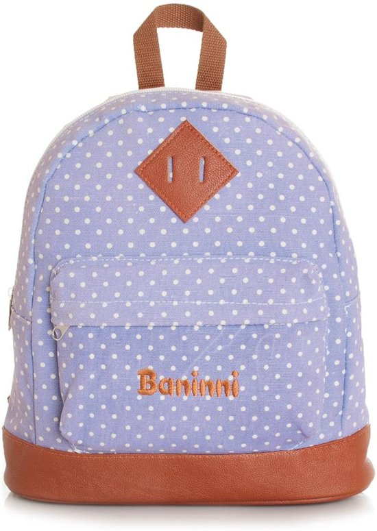 Baninni Kids Backpack Dotty Soft Purple