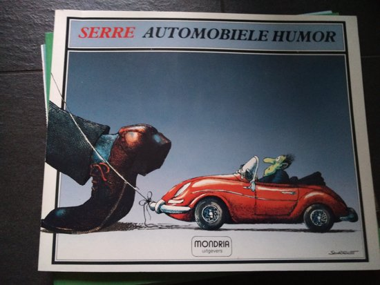 Automobiele humor - Serre |