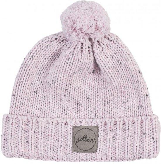 Muts 9 tot 18 mnd Confetti knit vintage pink