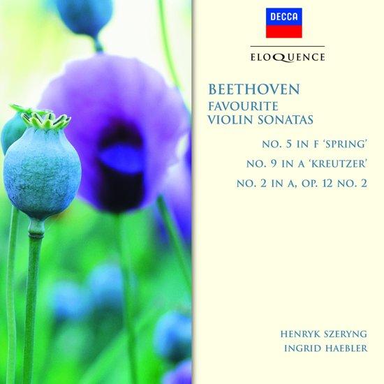 Beethoven: Violin Sonatas - ''Spring'' Sonata, ''Kreutzer'' Sonata