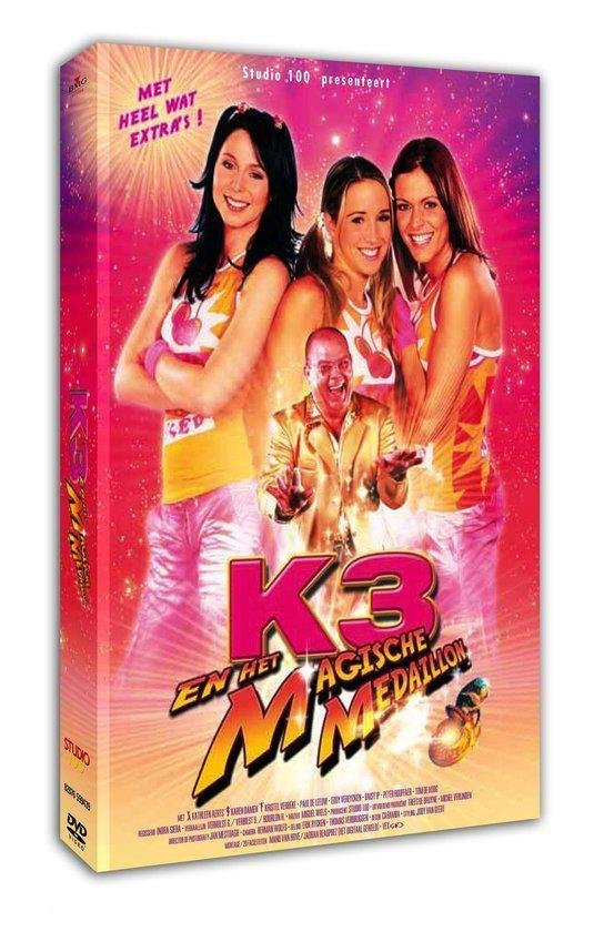 CD cover van K3-Magische Medaillon van Kathleen Aerts