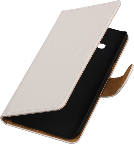 Htc One M8 Bookcase.Wit Bookcase Voor Htc One M8