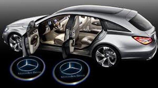 Bol Com Deur Led Logo Passend Voor Mercedes Benz
