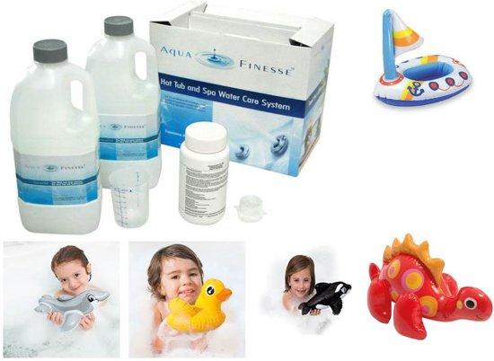 Aquafinesse Spa en Hottub waterbehandelingset met gratis  jacuzzi speeltje