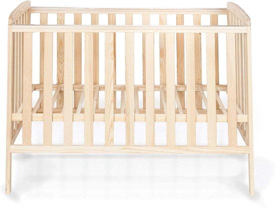 Hoogte Ledikant Baby.Babybed 120x60 Cm Ledikant Hoogte Verstelbaar Lattenbodem