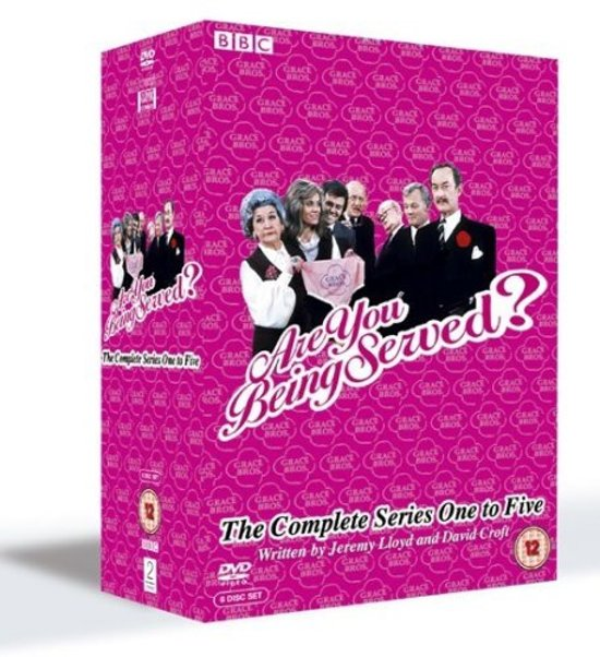 Are You Being Served Seizoen 1 t/m 5 (Import)