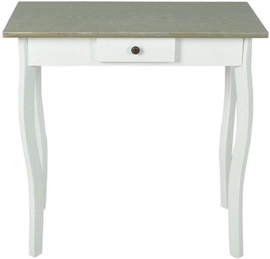 Side Table Bruin.Vidaxl Sidetable Bruin Grijs