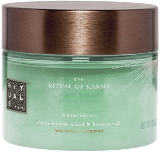 RITUALS The Ritual of Karma - 375g - lichaamsscrub