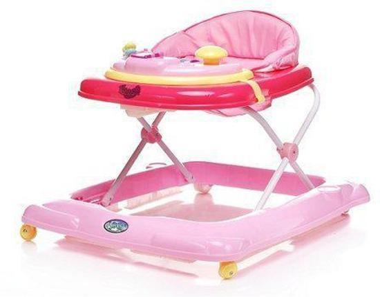 Bol baby loopstoel steps roze