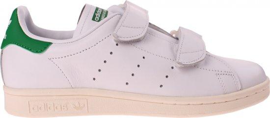 adidas sneakers wit groen
