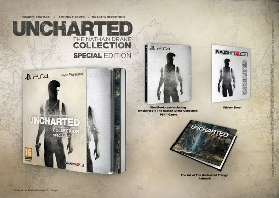 Uncharted: The Nathan Drake Collection - Special Edition - PS4 kopen
