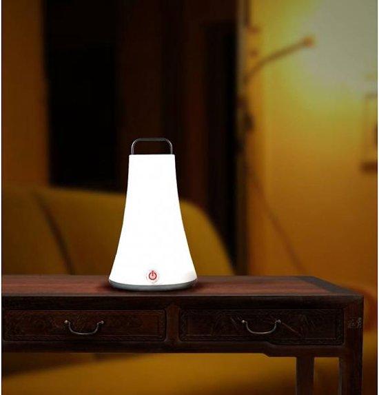 Lumisky oplaadbare lantaarn met witte led for Bol com verlichting