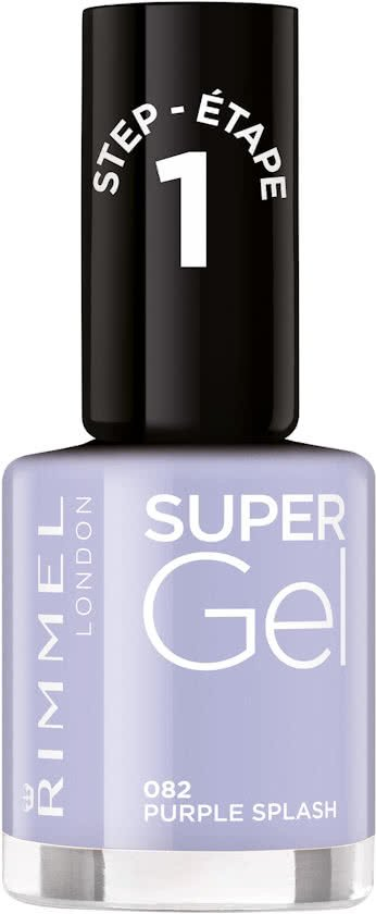 Rimmel London SuperGel Gel Nagellak - 082 Purple Splash