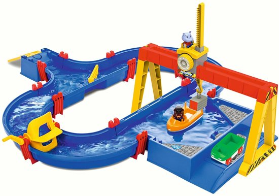 Big - AquaPlay 1532 - Container Kraan Afmeting artikel: 104 x 90 x 25 cm