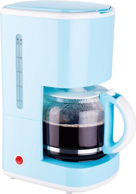 Bestron Koffiezetapparaat 1080 W blauw ACM300EVB