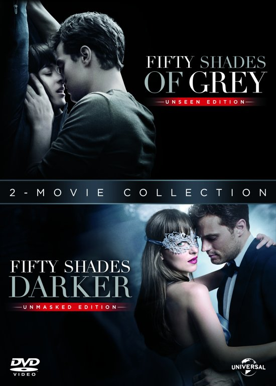 DVD cover van Fifty Shades Grey+ Fifty Shades Darker