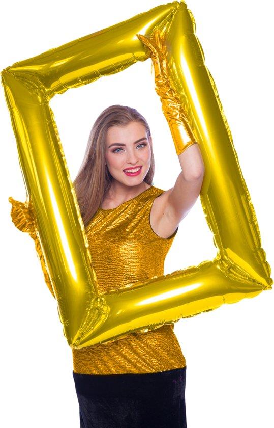 Folieballon Goudkleurige Fotolijst Valentinaa