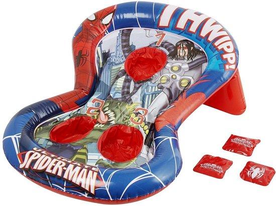 Afbeelding van het spel Spiderman opblaas gooispel bonenzakjes