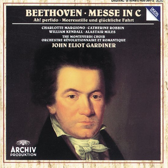 Beethoven: Messe in C, etc / Gardiner, Monteverdi Choir
